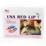 Usa Red Lip